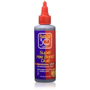 Salon Pro 30 Second Super Hair Bond Glue 4 oz