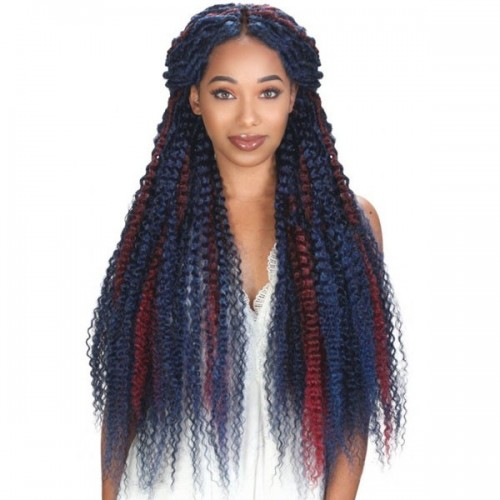 Zury Queendom Crochet Braid Boho-Kinky 28""