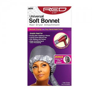 Kiss Universal Soft Bonnet Hair Dryer Attachment